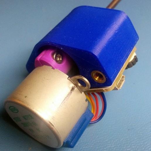 IMG_20151109_084446.jpg Télécharger fichier SCAD gratuit Distributeur motorisé de pâte à souder SMT Arduino • Modèle pour imprimante 3D, cult3dp