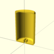 Download free SCAD file Customizable X-Acto blade disposal bank • 3D printing object, cult3dp