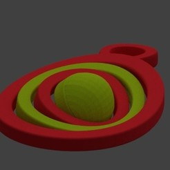 Download free 3D printing files Easter egg key chain 4 contours, AndreyR3