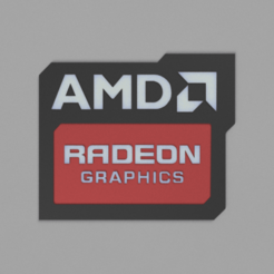 Download free 3D printer files Amd radeon logo, pitrvratny