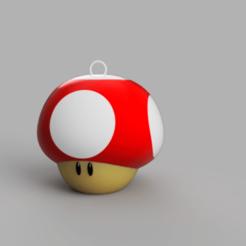 Télécharger fichier STL Porte-clés Mario Mushroom • Design à imprimer en 3D, Acryfox