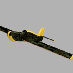 Télécharger fichier imprimante 3D gratuit Une maquette d'avion étonnante, Acryfox