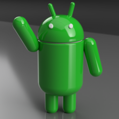 Download free STL file Android, Acryfox