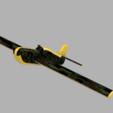 Download free 3D printing designs Amaizing airplane model, Acryfox
