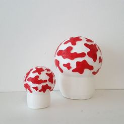Free 3D printer files Tintin mushroom of the mysterious star, nicotintin35