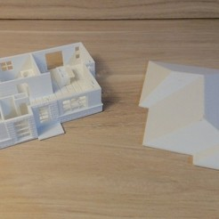 Download 3D printer model Small Architect House, David3D