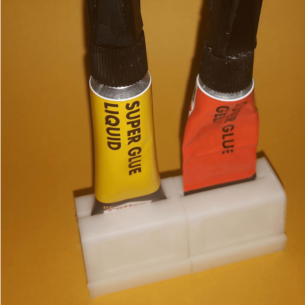 1.png Télécharger fichier STL gratuit Support modulaire à démontage rapide pour colle • Design à imprimer en 3D, lfdesilva