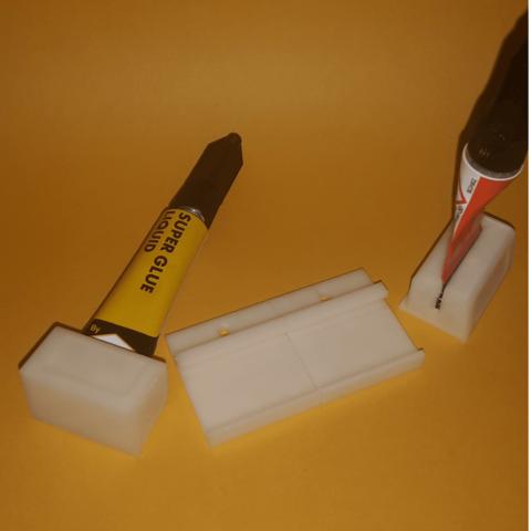 3.png Télécharger fichier STL gratuit Support modulaire à démontage rapide pour colle • Design à imprimer en 3D, lfdesilva