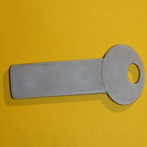 Télécharger fichier STL gratuit Porte-clés magnétique de garage. • Plan imprimable en 3D, lfdesilva