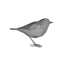 Untitled 1 (4).png Download STL file Low Poly Bird • 3D print object, ibrahimomarkhan