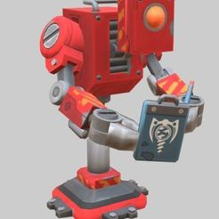 Download free STL Scrap Mechanic Observbot, prevotmaxime68