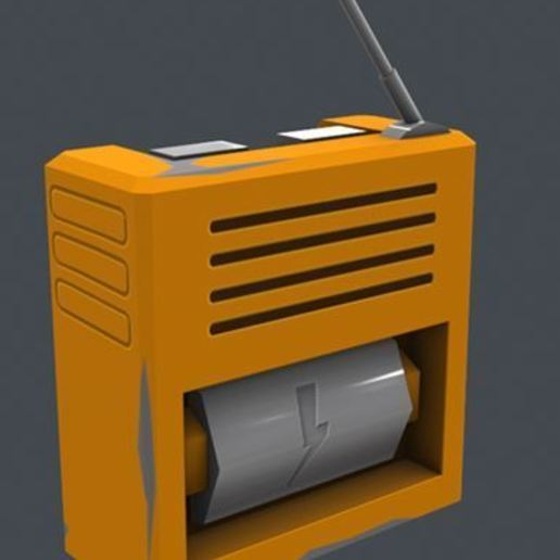 Capture2.JPG Download free STL file Scrap Mechanic Radio • 3D printer object, prevotmaxime68
