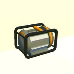 Capture1.JPG Download free STL file Scrap Mechanic Electric Engine • 3D printing model, prevotmaxime68