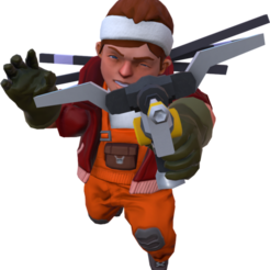 Char.png Download STL file Scrap Mechanic male character • Design to 3D print, prevotmaxime68