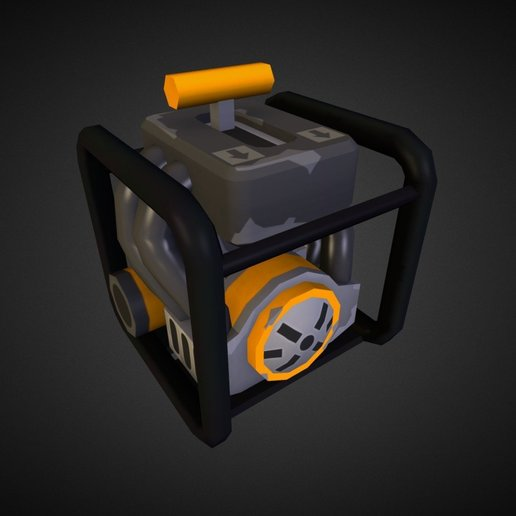 74706d1ac9b041f2bac9e13d31be14ca.jpg Download free STL file Scrap Mechanic Gas Engine • Template to 3D print, prevotmaxime68
