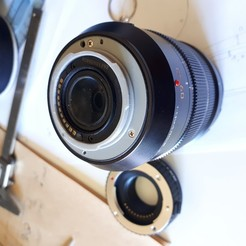 Download 3D printer designs Leica lens mount replacement 12-60, prevotmaxime68