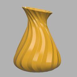 vase 1.JPG Download STL file Vase / flower pot • 3D printer object, prevotmaxime68