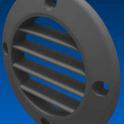 Download 3D printer designs Ventilation grid, Seb3D