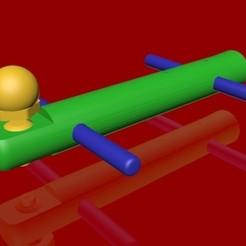 image_1.jpg Télécharger fichier STL Guide pour Marionnette à Fil ( Biped ) • Objet pour imprimante 3D, Jo3Demaret