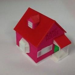 Free 3D printer files Kame House from Dragon Ball, Newxena