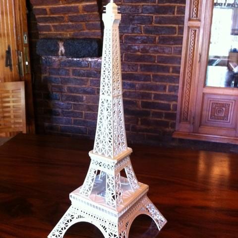 2015-08-17_10.20.05_display_large.jpg Download free STL file Eiffel Tower HD • 3D print model, Ogubal3D