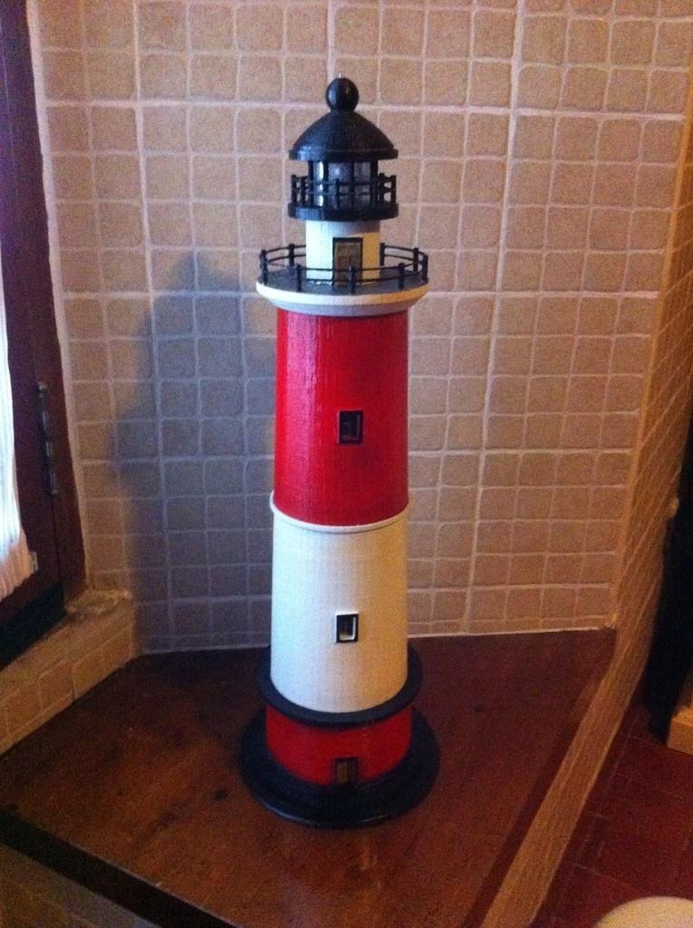 2014-12-31_12.25.47_display_large.jpg Download free STL file Round Base Lighthouse Model • Model to 3D print, Ogubal3D