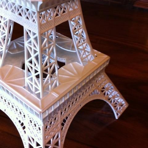 2015-08-17_10.20.53_display_large.jpg Download free STL file Eiffel Tower HD • 3D print model, Ogubal3D