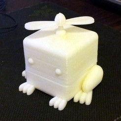 Download free 3D printer templates Frog Cubimal, Ogubal3D