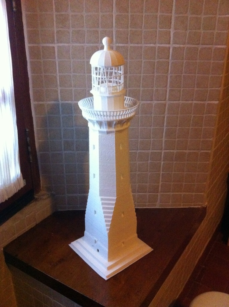 2014-12-31_12.31.28_display_large.jpg Download free STL file Green Cape Lighthouse Model • Object to 3D print, Ogubal3D