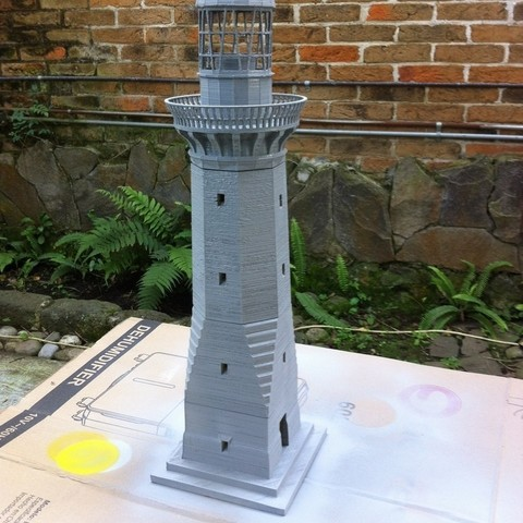 2015-01-03_15.22.28_display_large.jpg Download free STL file Green Cape Lighthouse Model • Object to 3D print, Ogubal3D