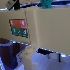 Download free STL file CraftBot holder for GoPro HERO2, Ogubal3D