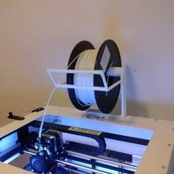Free 3D printer designs Spool Holder for CraftBot, Ogubal3D