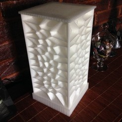 Download free 3D printer designs Voronoi Mood Lamp, Ogubal3D