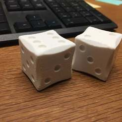 Download free STL file Simple Dice Design, Armourcraft