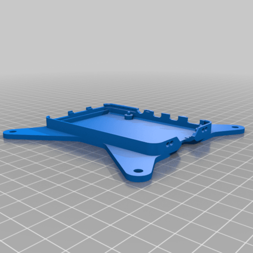 Download free 3D printer files Raspberry Pi 4 case bottom with VESA mount (Remix), Armourcraft