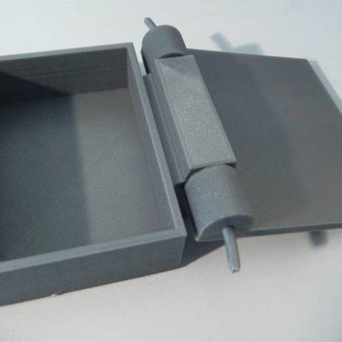 DSCN0128_display_large.JPG Download free STL file Box with hinge • 3D printable design, Minweth