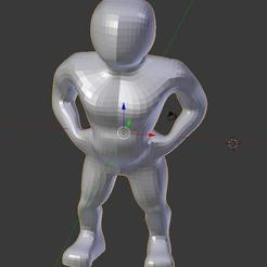 Download free 3D printer files Funnyman, Minweth