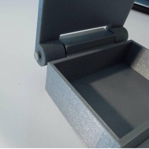 DSCN0132_display_large.JPG Download free STL file Box with hinge • 3D printable design, Minweth