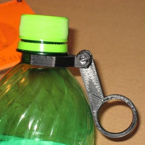 Télécharger fichier STL gratuit Porte-bouteille de 20 oz, Minweth