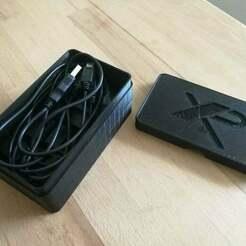 IMG_20180722_160531.jpg Télécharger fichier STL gratuit Boîte pour chargeur XP-Deus (avec logo Xp) • Modèle pour imprimante 3D, 3dludo