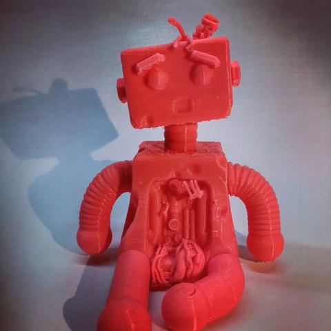3D printer files Robotito. Broken robot. Broken toy collection., pakodo
