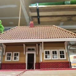 Download 3D print files Passenger Depot for Diaroma, cadcygnus