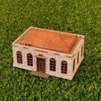 Download free STL file HO Scale  Post Office • 3D printing object, cadcygnus