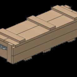 STL files rocket crate 1/10, wavelog