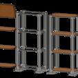 Télécharger modèle 3D gratuit étagère 1/10, wavelog