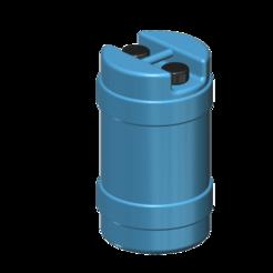 Descargar modelo 3D gratis 15 galones de almacenamiento de agua 1/10, wavelog