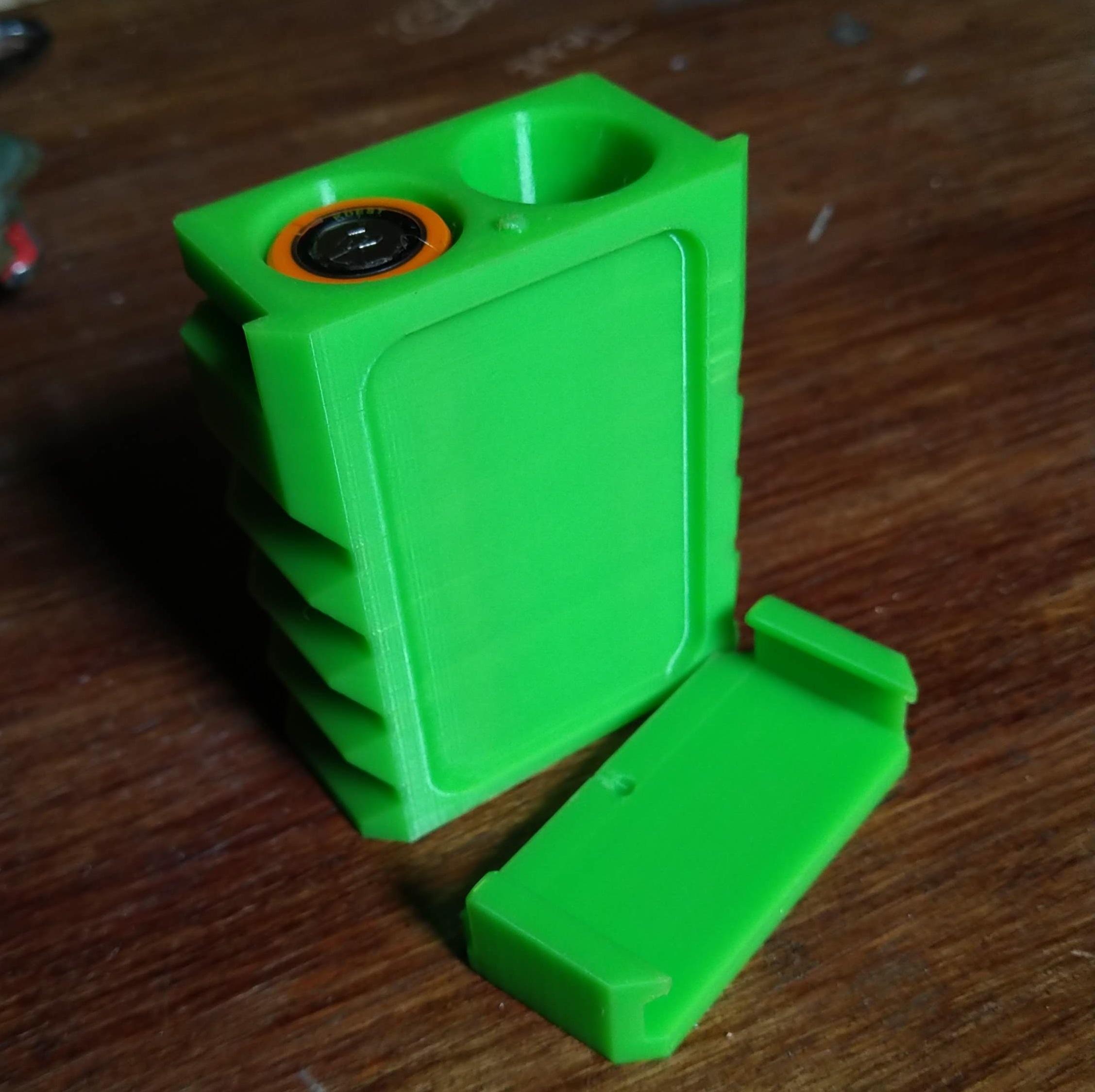 IMG_20190823_100117.jpg Télécharger fichier STL gratuit 18650 boîtier de batterie • Modèle à imprimer en 3D, wavelog