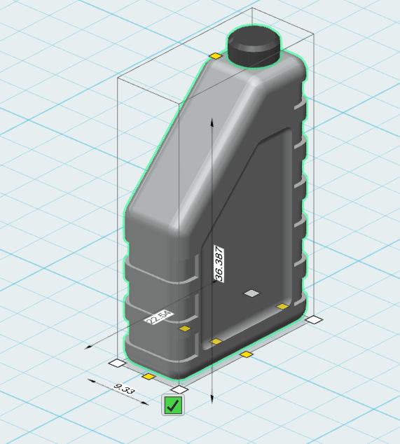 oil bottle 1.png Télécharger fichier STL gratuit bouteille d'huile 1/10 • Plan pour impression 3D, wavelog