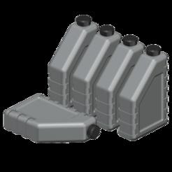 Descargar modelo 3D gratis botella de aceite 1/10, wavelog