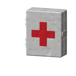 Download free 3D printer model first aid box 1/10, wavelog